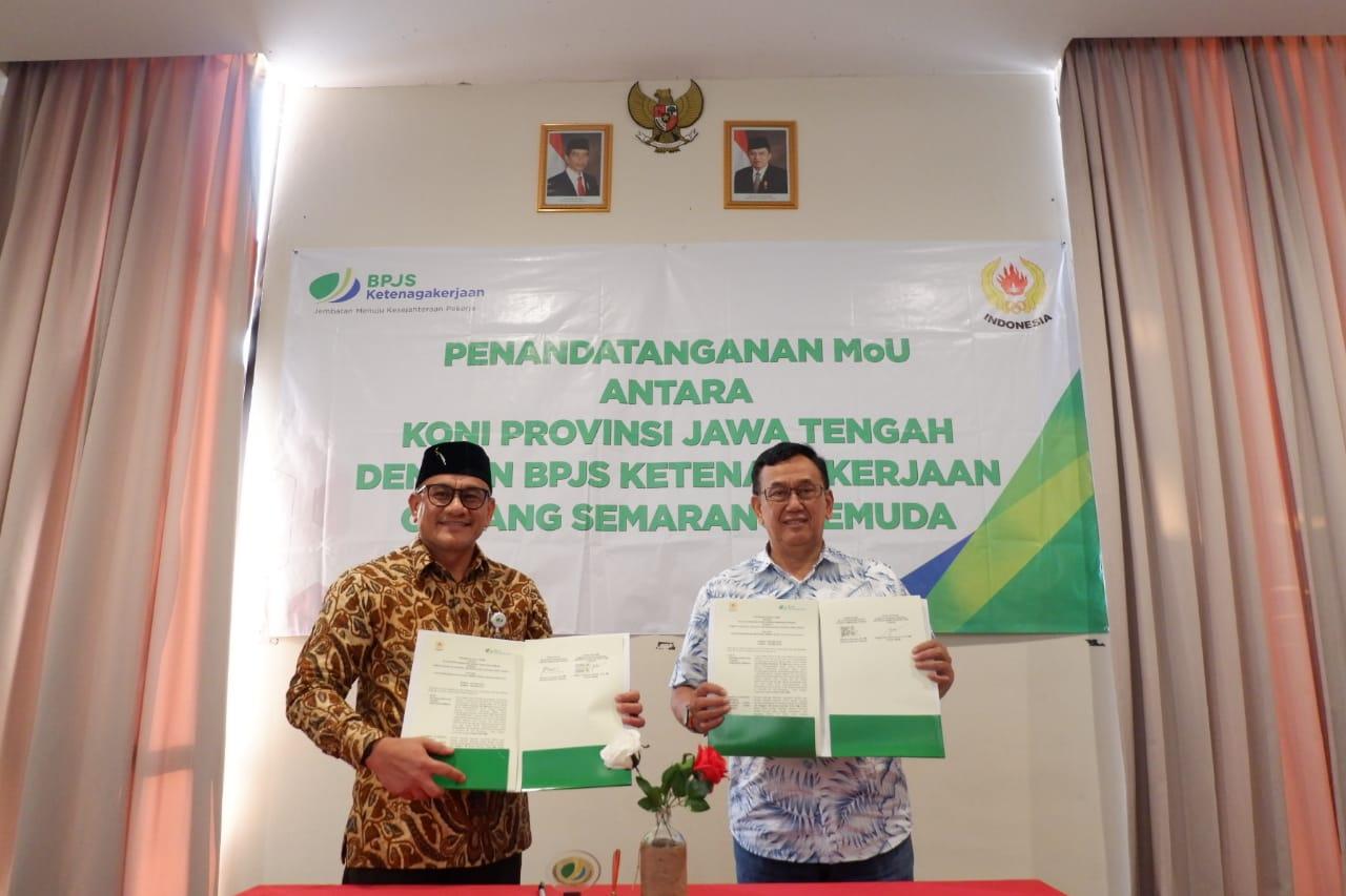 Bpjs Ketenagakerjaan Semarang Ikut Lindungi Atlet Prapon Zonapasar Com